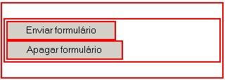 Exemplo dos botões submit e reset